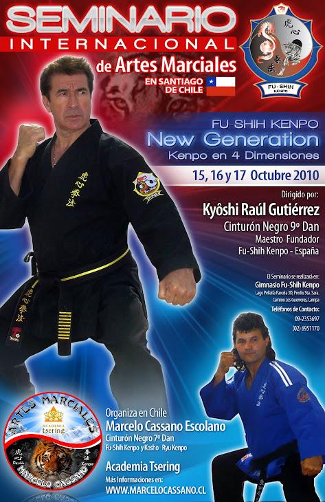 Kyôshi Raúl Gutiérrez, 9º Dan