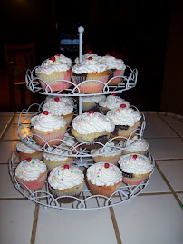 Banana Split Cupcakes