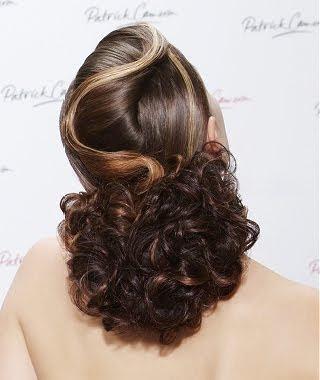 Onda frontal para peinados recogidos