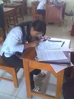 Susah Banget yah uji tulisny...