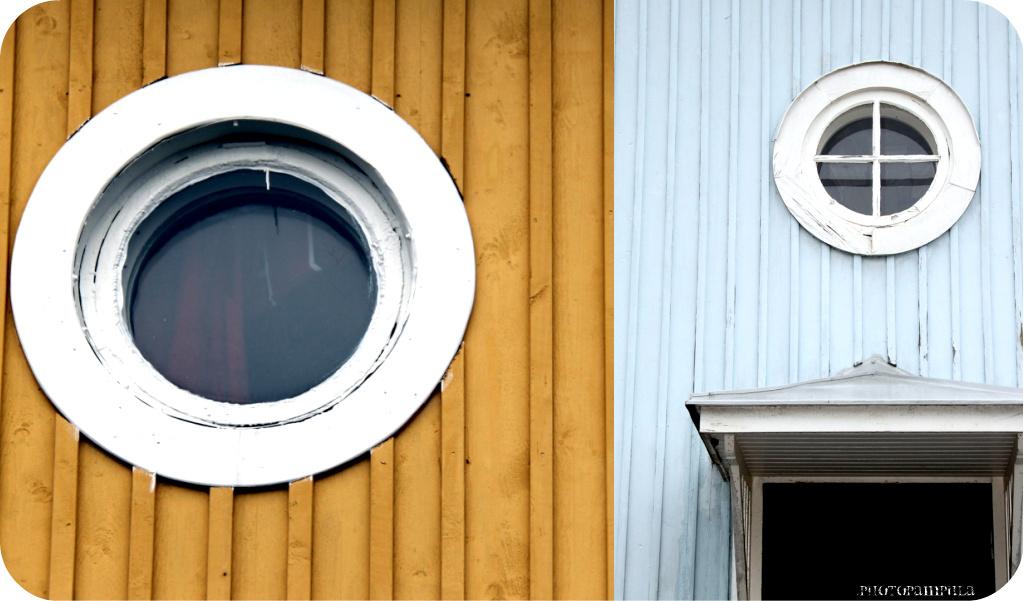 Pyöreä ikkuna myydään