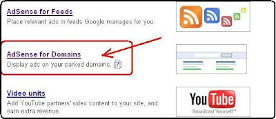 Adsense for Parked Domains-Googles new Adsense Setup