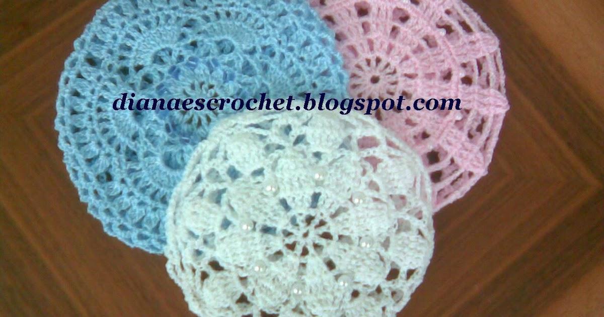 Diana es crochet: Cubre pelo para danza o ballet