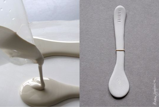 {Design} Leftover spoon by Mara Skujeniece
