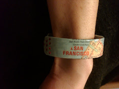 Map of San Francisco Bracelet