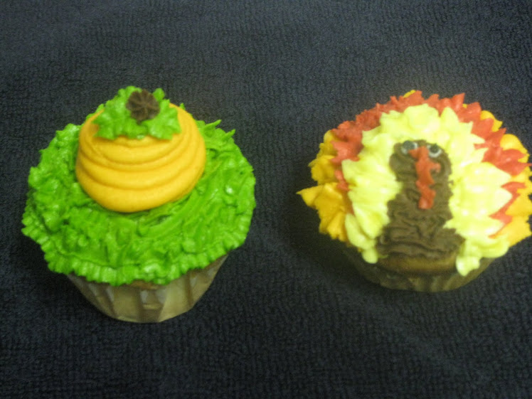 Thanksgiving Cupcakes!