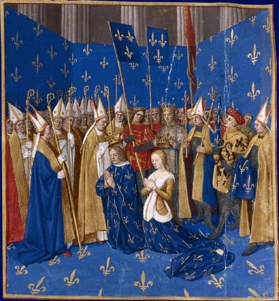 Coroação se S. Luís.