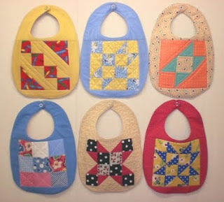 Quilted Patchwork Bib Pattern and Tutorial {Baby} - Tip Junkie