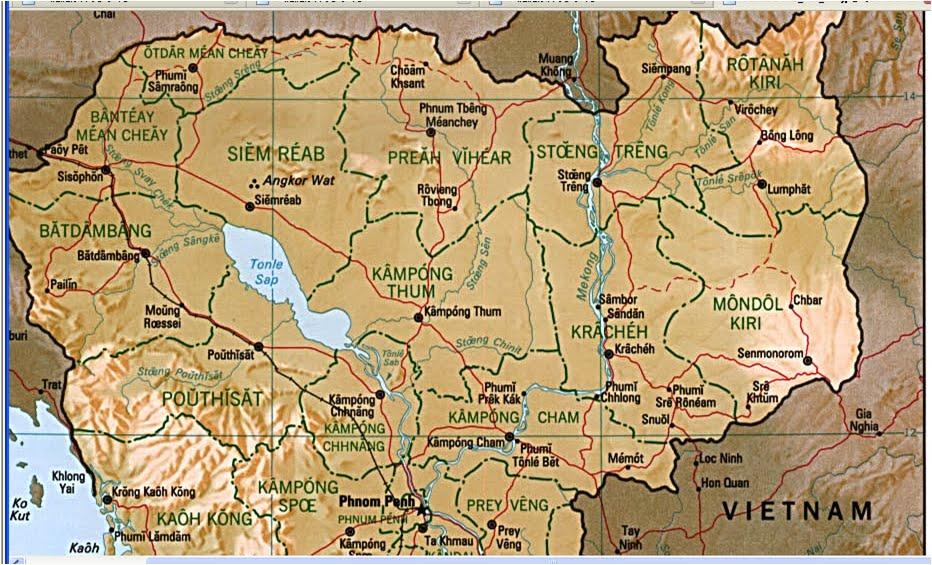 !!!: カンボジア 地図 skip to main | skip t...  カンボジア 地図