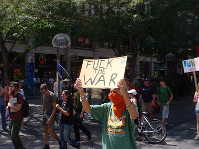 "Live From Denver… The ""Funk the War Protest"""