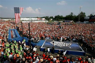 WOW!! 20,000 Turn Out to See Palin & McCain In Missouri (Video)