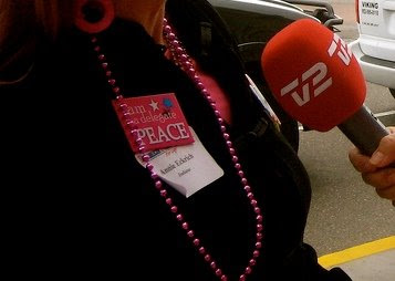 CODE PINK STOLE DELEGATE'S IDENTITY TO GET INTO RNC CONVENTION!!!!