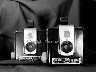 black white vintage retro camera kodak brownie
