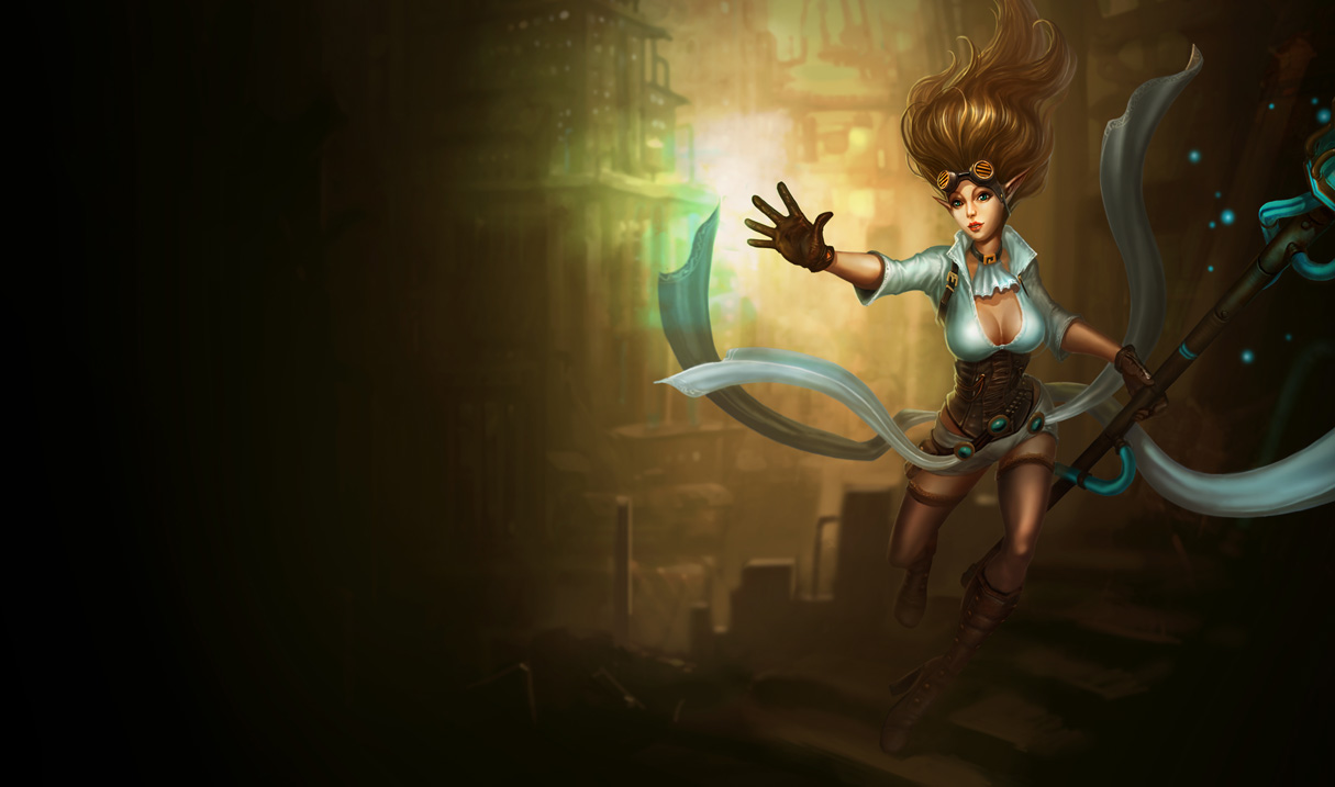 League of Legends Wallpaper: Janna - The Storm's Fury