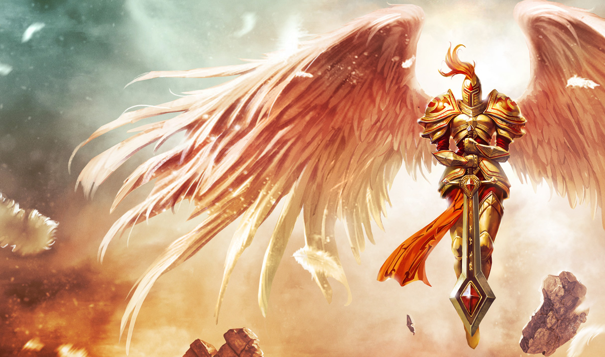 League Of Legends Wallpaper Kayle The Judicator