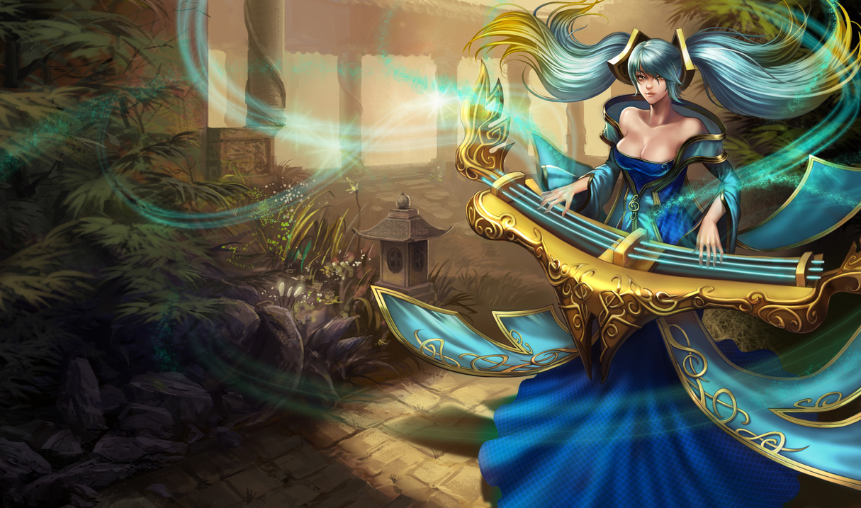 League of Legends Sona Hot