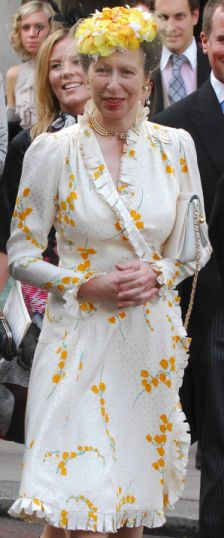 Princess Anne Wedding Dress Pictures : Worst dressed royal wedding guests princess anne s repeat offense
