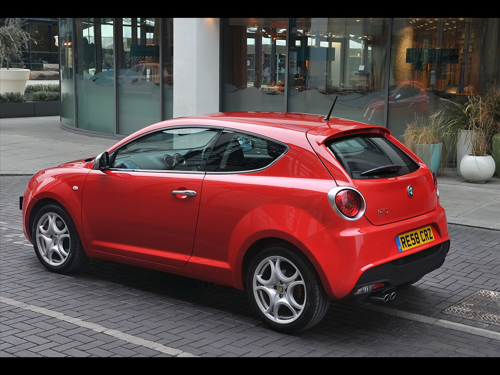 Sport Car Alfa Romeo Mito Uk Version 2009