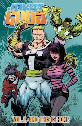 JERSEY GODS, VOL 2 - TPB - Also by Glen Brunswick - Art by Dan McDaid - CLICK ON COVER TO BUY!