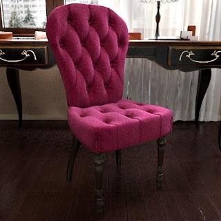 Free 3D model - Classic Velvet Armchair