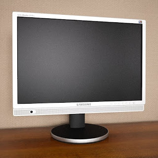 Free 3D model - Samsung SyncMaster 215TW monitor