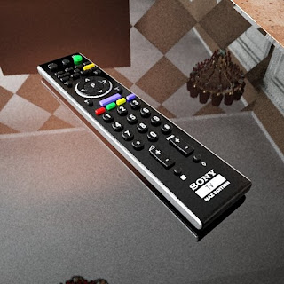 Free 3D model - SONY Naz edition remote