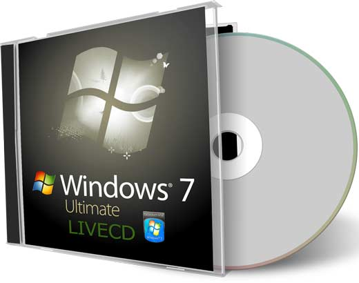 gadgets y tecnologia windows 7 ultimate live cd sistema. Black Bedroom Furniture Sets. Home Design Ideas