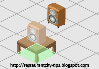 Restaurant City - Guide on Stacking Items