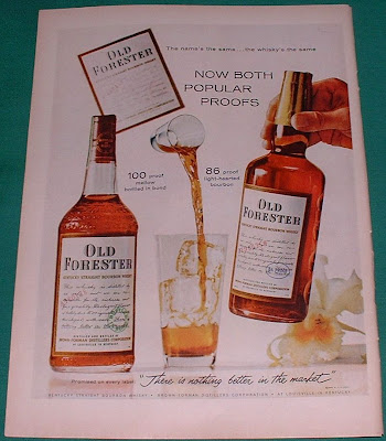 old foresters whiskey