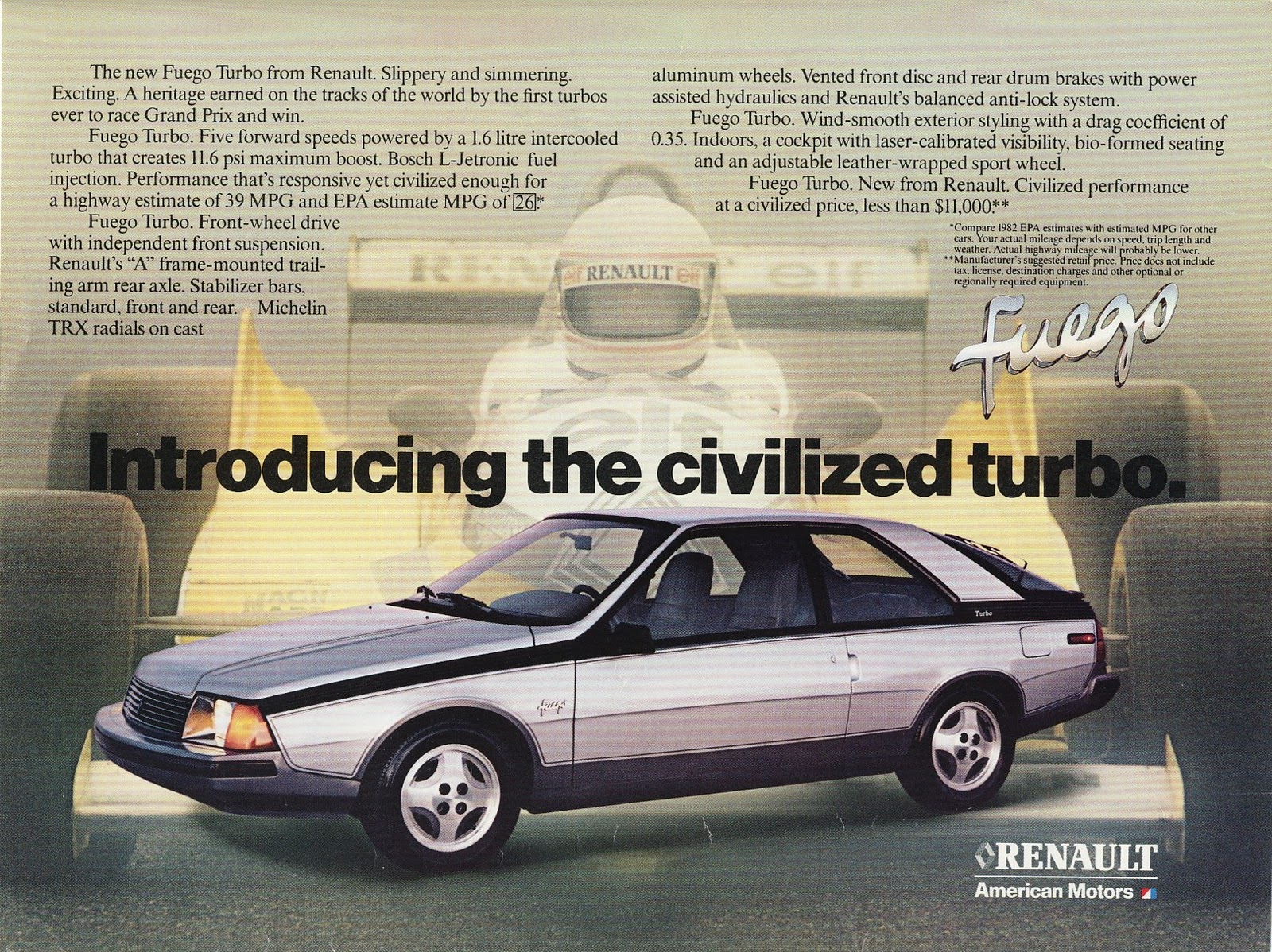 Images 1982 Renault Fuego