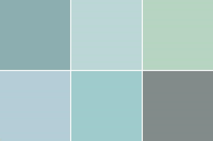 Color palettes the endless pursuit Blue and green colour scheme