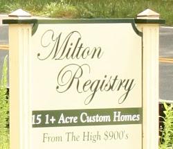 Milton Registry Estate Homes