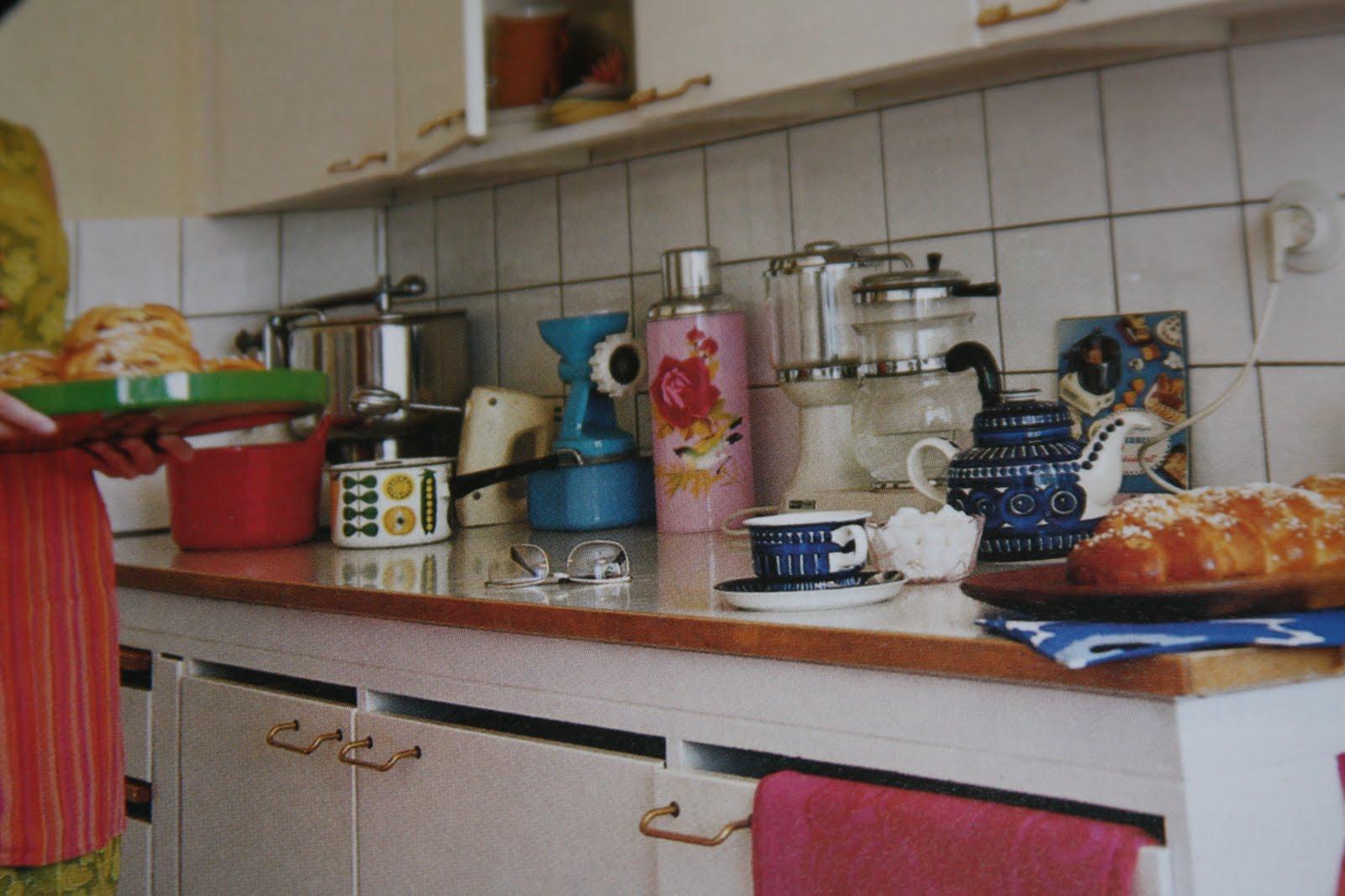 castaway 1960  luvun keittiössä