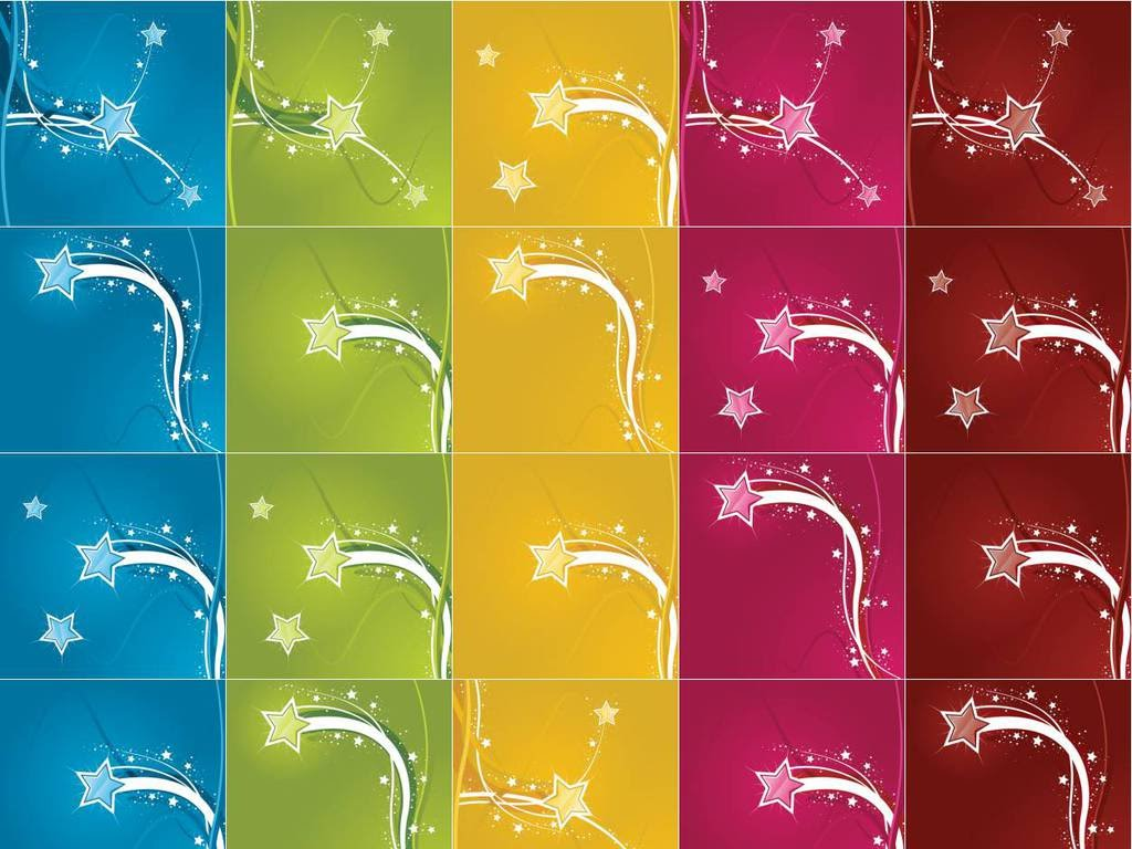 Stars colorful backgrounds
