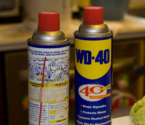 Louisiana bayou lady what person thinks wd 40 ingredients for Wd 40 fish oil
