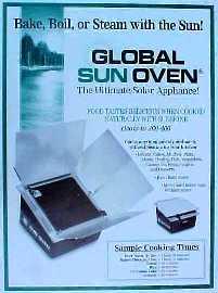 sun oven homepage