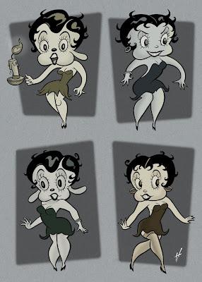 Betty Boop drawings