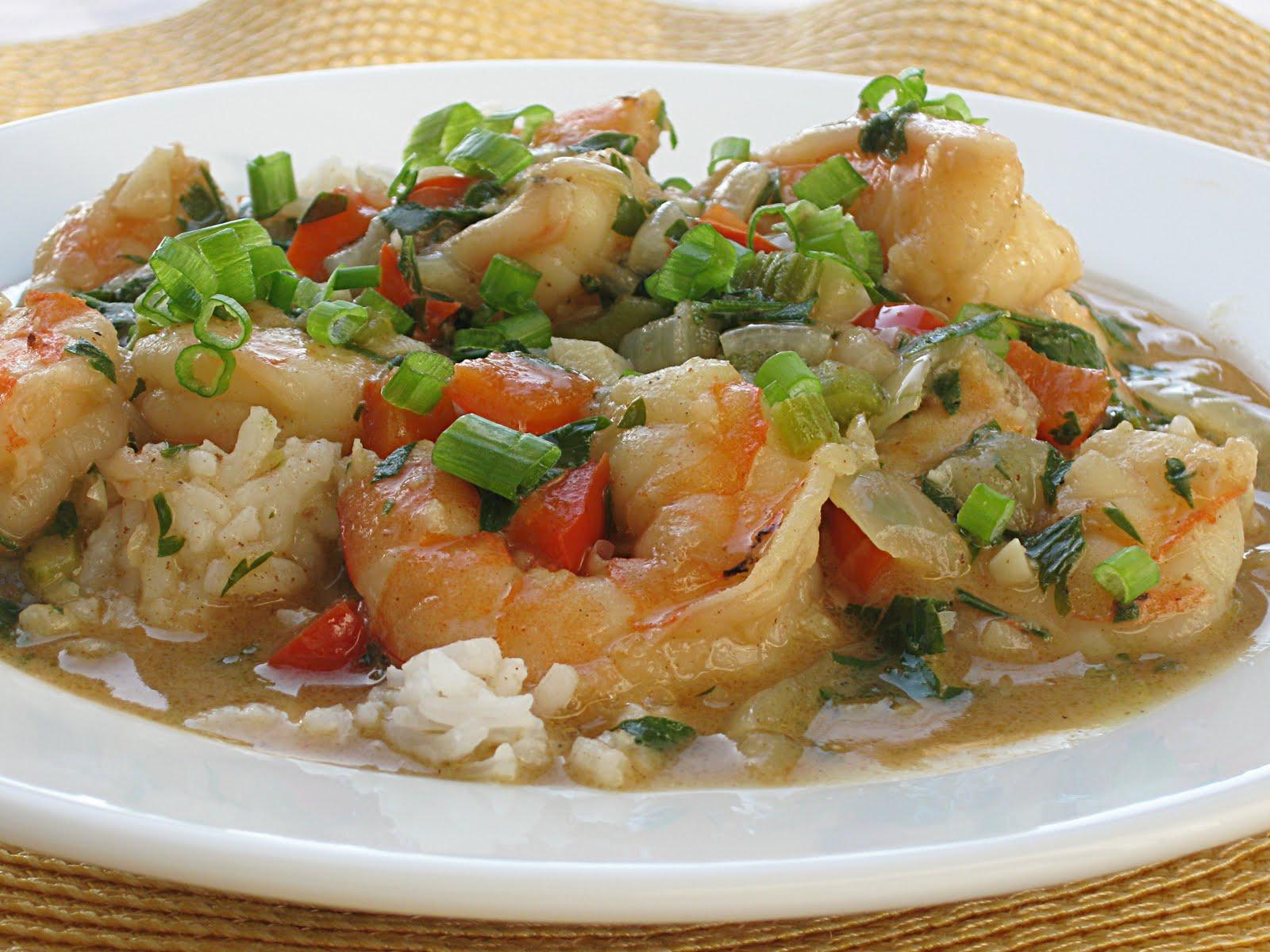 All That Splatters: Shrimp Etouffee