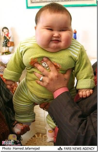 I would never look like that!!! Fat-Baby-Pictures-8