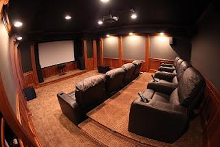 Mhi Interiors Theater Room Novi Mi