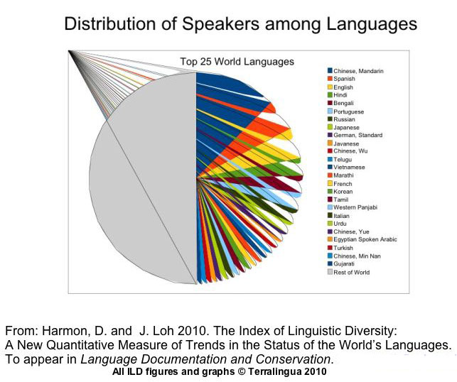 Parashars Blog July - World top language list