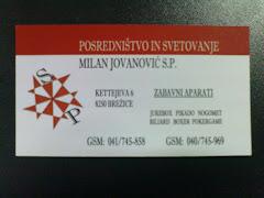 Milan Jovanović s.p.