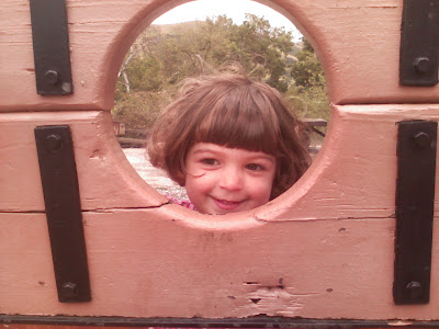 Salma in the stocks