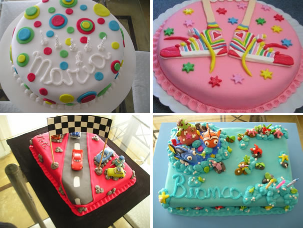 Más Chicos: Tortas de cumpleaños