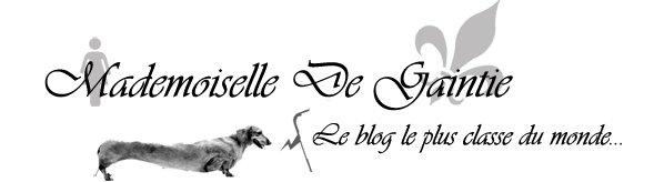 Mademoiselle De Gaintie