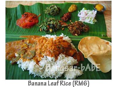 Banana Leaf Rice Devi S Corner Bangsar Bangsar Babe