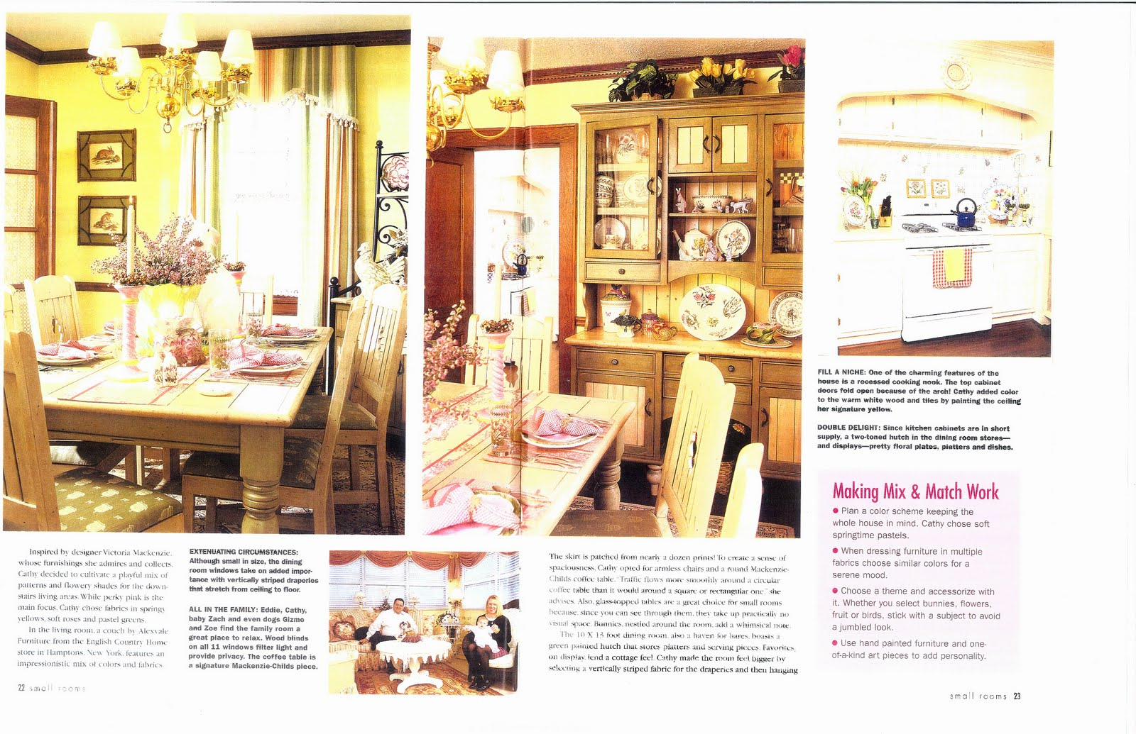 My winning entry featured in quot small room decorating quot magazine