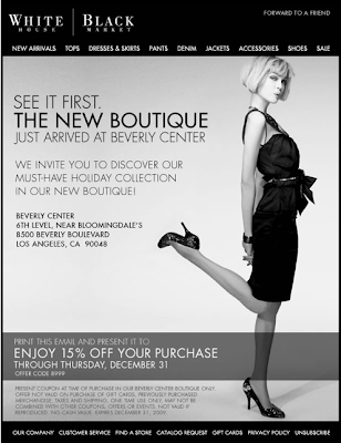 White House   Black Market: New Boutique at Beverly Center in Los Angeles
