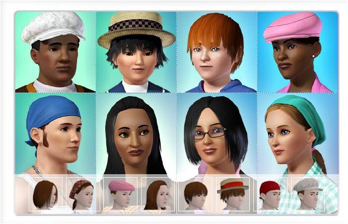 Hair Color Patterns. hair color