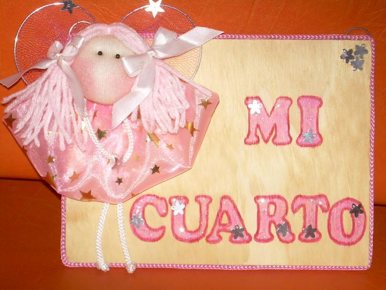 CARTEL PUERTA DE CUARTO